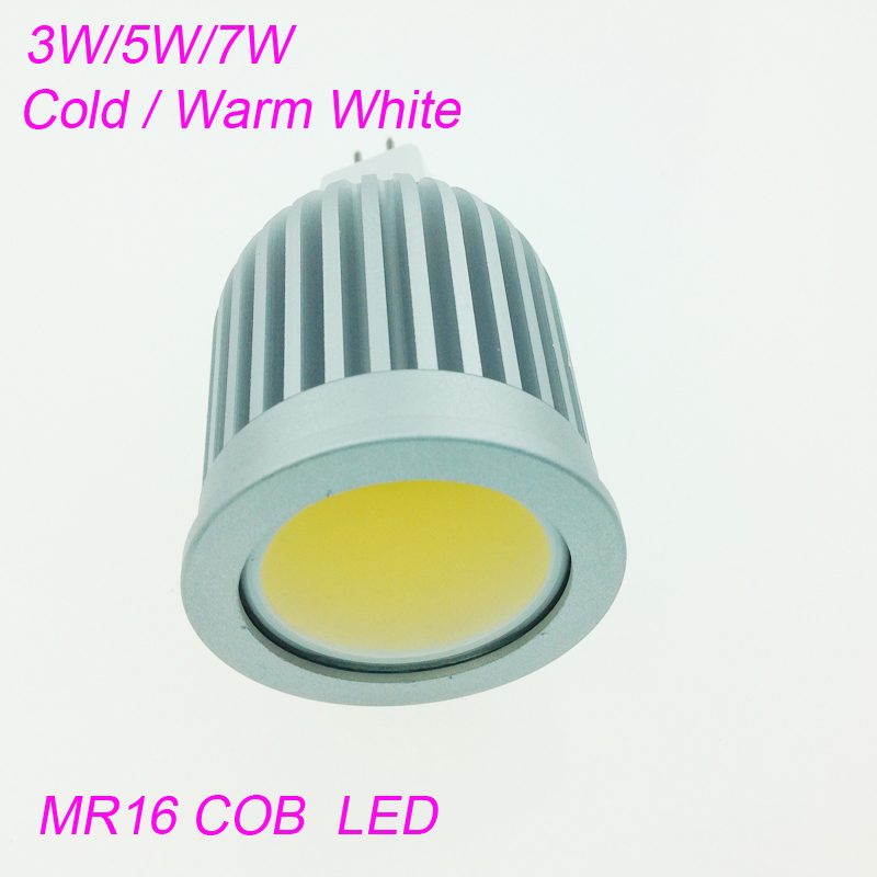 High Power 3w 5w 7w Led Spot Light Dimmable E27/E14/GU10 COB Spotlight Lamp Bulb MR16 12V Warm Cold White AC85-265V Bulb Lamps машины технопарк машина hyundai santafe sport