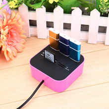 All In One Hight Speed Card Reader for SD/MMC/M2/MS 3-Port USB 2.0 HUB For Desktop PC Laptop Best Price