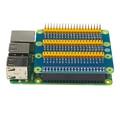 Alta calidad Raspberry PI 2/3 placa adaptadora gpio 1 a 3 40pin tablero de extensión para Raspberry pi GPIO 3 módulo GPIO pi plátano M3