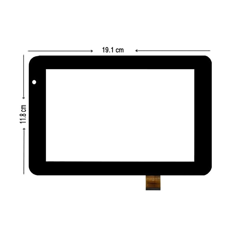 New 7 inch Touch Screen Digitizer Glass For Bq Maxwell Lite / Maxwell 2 Lite tablet PC Free shipping new 7 inch touch screen touch digitizer for titan pc7028 tablet pc