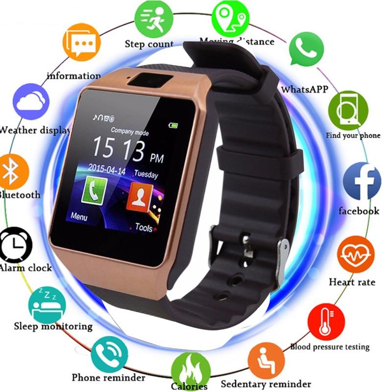 48d6abc5462 Comprar Reloj inteligente Bluetooth Smartwatch DZ09 llamada de teléfono  Android Reloj 2g GSM tarjeta SIM TF cámara para iPhone Samsung HUAWEI PK  GT08 A1 ...