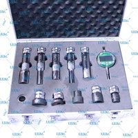 ERIKC Diesel Injector Shims Test Tool kits, Common Rail injection Washer Gaskets Space Testing Kits, injector measure tools set