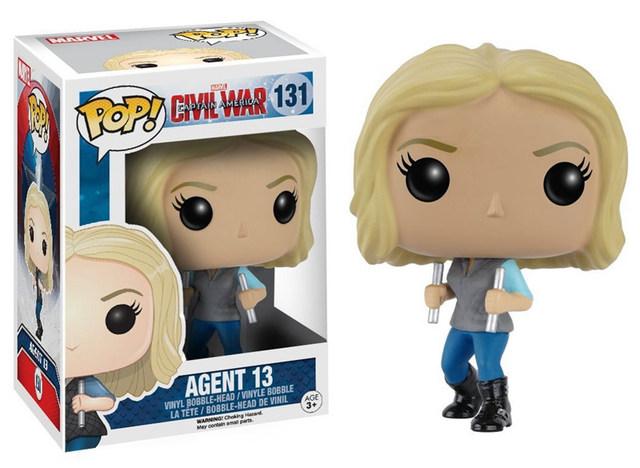 Funko Pop! Marvel Civil War: Agent 13 – Nr 131