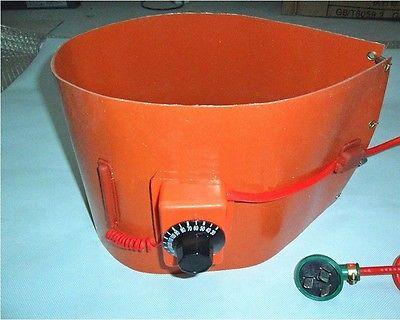 110V 1740mm*125mm Silicon Band Drum Heater Oil Biodiesel Plastic Metal Barrel 200l 55gallon 240v 1000w silicon metal oil drum heater dgz car accessories silicon heater