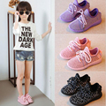 Children Causal Shoes Girl 2016 autumn Breathable Sport Soft Bottom Boys &Girls Running Shoes Kids Coconut Fashion Kids Sneakers