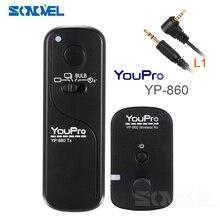 YP 860II L1 Shutter Remoto Sem Fio para Panasonic DMC FZ50/FZ150/DMC 250S/DMC Z230/LC 1/L1/L10/G10/G3/G5/G7 DMW RS1