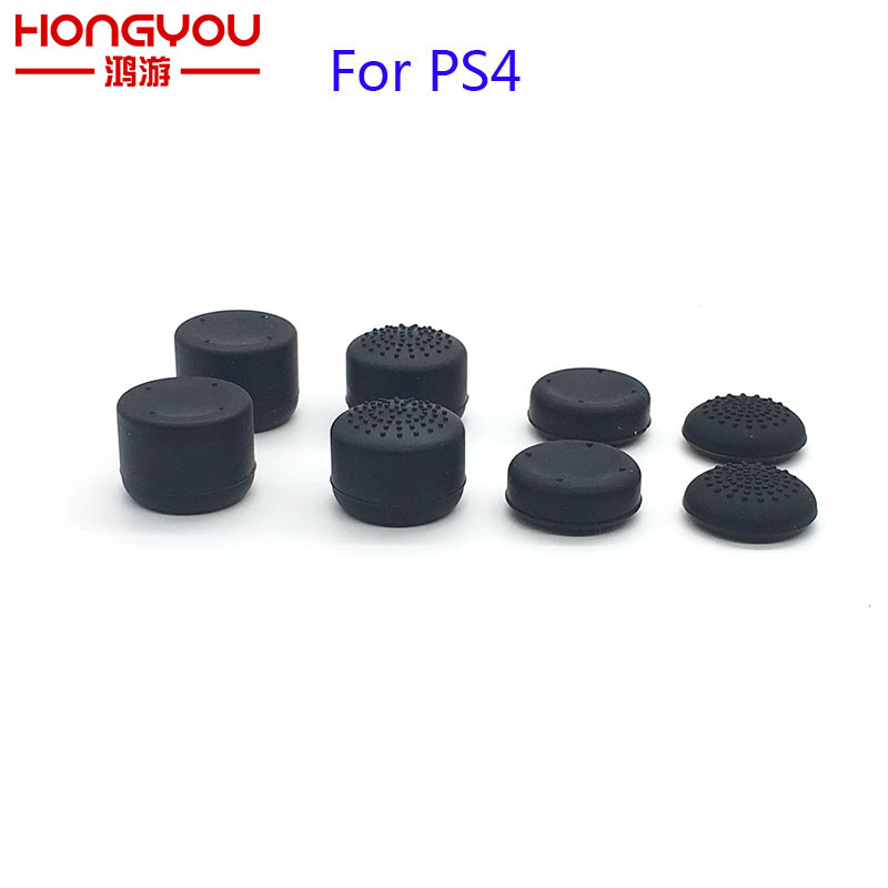 20Set 8 in 1 Soft Silicone Thumbsticks Grips for Sony Play Station 4 PS4 Controller Joystick Cap Cover for xbox 360 one