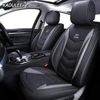 KADULEE кожаный чехол для сиденья автомобиля hyundai solaris туксонский акцент creta getz coupe grand i10 i20 i30 i40 ix35 ionia kona santa fe