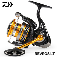 2019 Original Newest DAIWA REVROS LT 2 SPEED 1000 2000 2500 3000 4000 5000 6000 Spinning Reel Air Rotor Aluminum Handle Wheel
