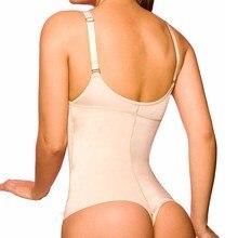 Ningmi latex body shaper mujeres posparto control firme body reductor fajas formadores stap ajustable cintura tanga tangas