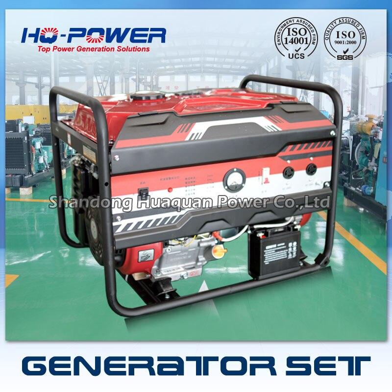 Бензиновый генератор 10