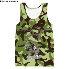 Men women Tank Top Army Camo Camouflage Mens Bodybuilding unisex Singlet Brand Clothing Fitness Sleeveless vest Shirt Workout