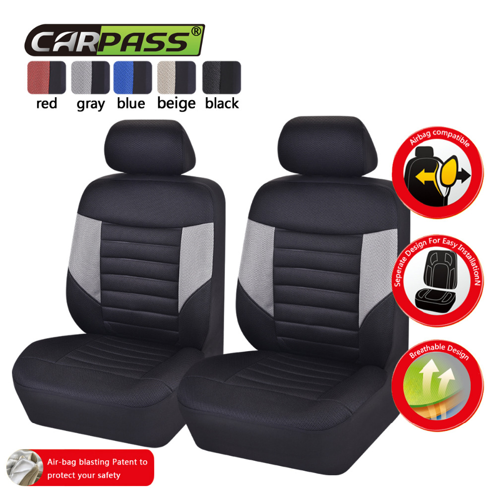 9XCar Seat Covers Full Styling Seat Cover Red/&Black For Car Interior Accessories