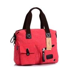Fashion Women Shoulder Bag High Quality Handbags Casual Female Canvas Messenger Bags Famous Brands Designer Handbag New 2016