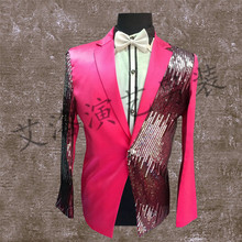 The new sequins suit han edition men's cultivate one's morality dress Singer chorus costumes clothing male host