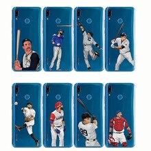 baseball cartoon Bryce Harper soft silicone phone cases cover Capinha Coque fundas capa for Huawei Y9 2019 2018 Y6 Pro 2017