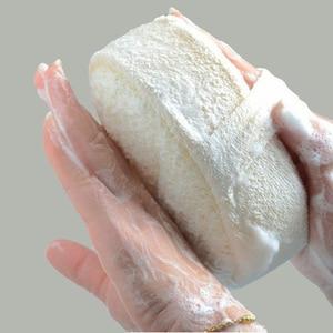 Natural Loofah Sponge Bath Ball Shower Rub For Whole Body Healthy Massage Brush(China)