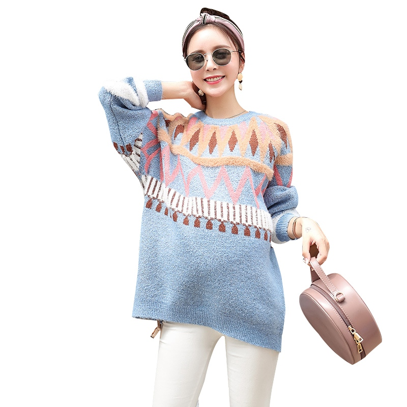 New Fashion Maternity Long Sleeve Pullovers Pregnant Basic Sweaters Women Knit Sweaters Pregnancy Autumn Winter SweatersNew Fashion Maternity Long Sleeve Pullovers Pregnant Basic Sweaters Women Knit Sweaters Pregnancy Autumn Winter Sweaters