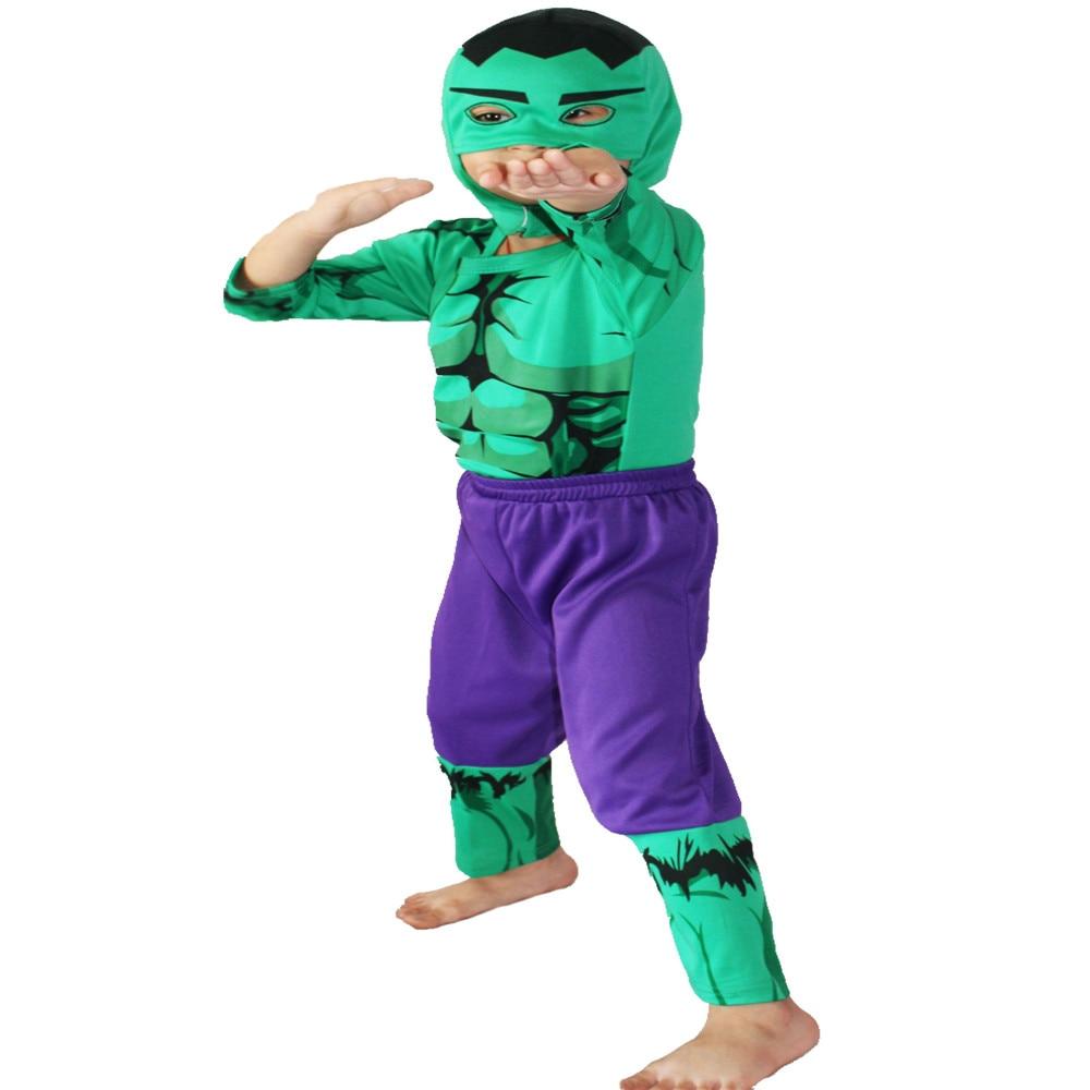 Disfrace Carnaval Boy Hulk Costumes Halloween Costume For ...