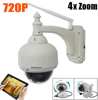 VStarcam C7833wip X4 720P PTZ Dome IP Camera Support WIFI ONVIF 2 4 Protocol With 4