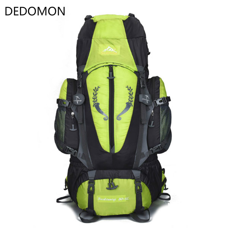 Large 85L Outdoor Backpack Travel Multi-purpose climbing backpacks Hiking big capacity Rucksacks camping sports bags mountec large outdoor backpack travel multi purpose climbing backpacks hiking big capacity rucksacks sports bag 80l 36 20 80cm