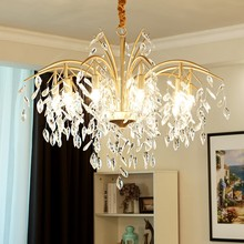 2019 Modern LED Crystal Pendant chandelier lights lamp for dinning room Kitchen Light Lustre Chandelier Lighting droplight все цены