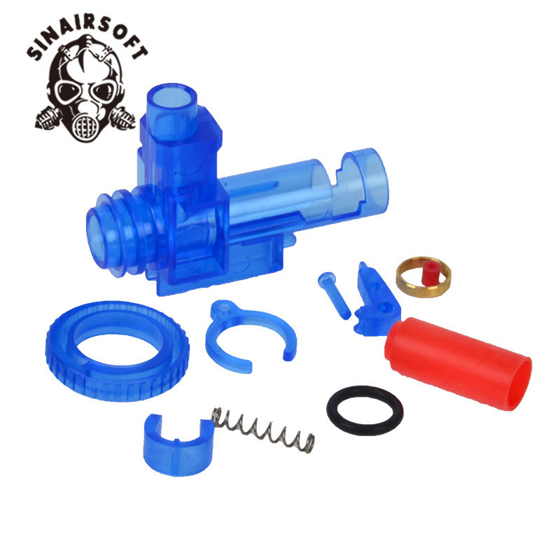 Plastic Rotation Hop Up Chamber M4 Series AEG Airsoft Hop Up For Marui Dboys JG With Bucking Oring Inner Barrel Spacer