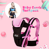 Brand New Babies Backpacks Carriers Multipurpose Adjustable Buckle Mesh Wrap Baby Carrier Face To Face Infant
