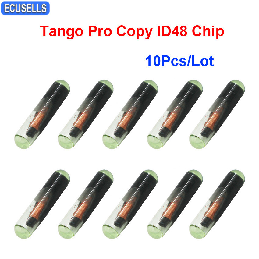 10PCS* Car Key Chips,New 4D ID60 Glass Transponder Chip for Ford Connect Fiesta