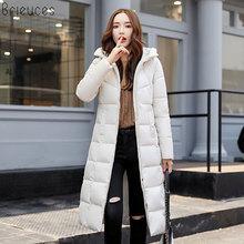 Brieuces Women Parkas Winter Jacket Outerwear Female 2017 Plus Size 3XL Coat Long Thick Parka Cotton Jackets