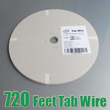 Hot Sale 220 Meters 720feet /Roll 1.80×0.16mm solar bus bar wire for PV Ribbon Tabbing wire tab wire TUV approved