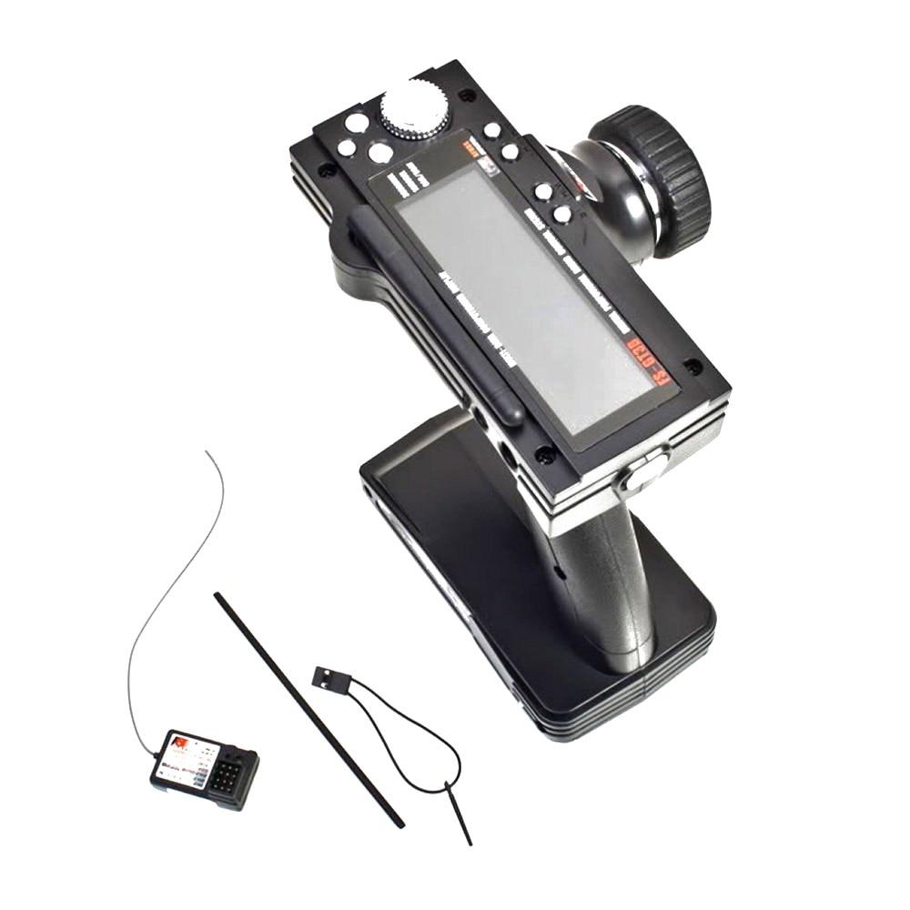 Flysky FS-GT3B 2.4G 3CH Radio Model Remote Control LCD Transmitter & Receiver For RC Car Boat