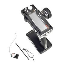 Transmissor e receptor flysky FS GT3B 2.4g 3ch, modelo de rádio com controle remoto lcd para carros e barcos rcflysky fs-gt3b 2.4g 3chflysky fs-gt3breceiver for rc