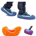 New Arrival 1pcs 3 Colors Dust Mop Slipper House Cleaner Lazy Floor Dusting Cleaning Foot Shoe Cover Dust Mop Slipper wholesale