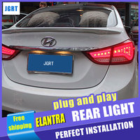 A T Car Styling For Hyundai Elantra Taillights BMW Design New Elantra LED Tail Light Rear