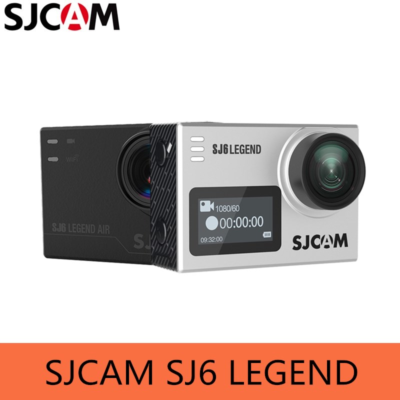 SJCAM SJ6 LEGEND Camera 4K 24fps Ultra HD Notavek 96660 Waterproof Action Camera 2.0 Touch Screen Remote Sports DV RAW Photo