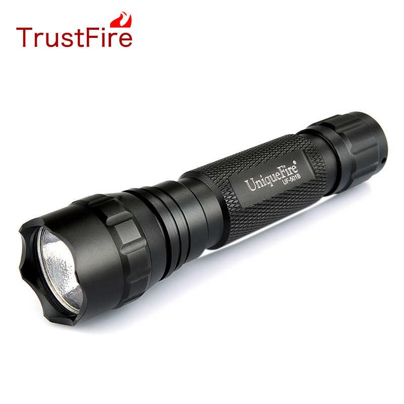 Hurtownie cena 2016 nowa UniqueFire WF-501B XR-E Q5 wysokiej mocy uroczy uciążliwy wzór LED latarka taktyczna