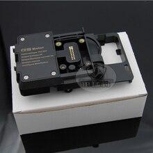 Мотоцикл USB зарядное устройство мобильного телефона для iPhone держатель подставка Brack для Honda CRF1000L Африка Твин CRF1000L для 12 мм рулон