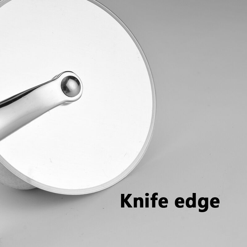 Wind flower Pizza Cutter Stainless Steel Pizza Knife Cake Bread Pies Round Knife Pastry Pasta Dough kitchen Baking Tools