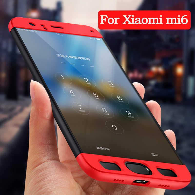 UTOPER Оригинал 360 полный защитный чехол для Xiao mi 6 mi 6 Чехол красный модный жесткий Гибридный Пластиковый Чехол для Xio mi 6 mi 6 Shell