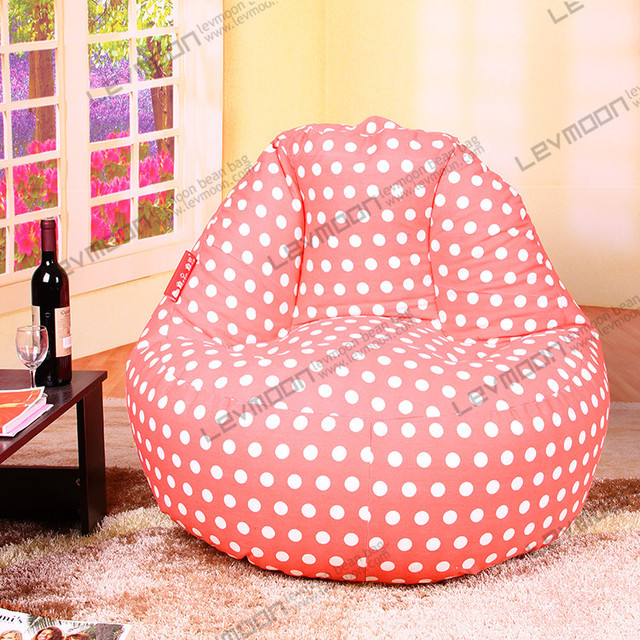 Free Shipping Rorange Bean Bag Chair 100cm Diameter Bags Beans Chairs 100