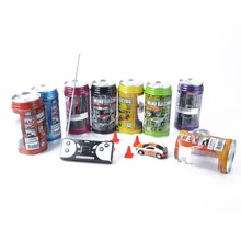 Free Shipping Electronic New Baby Boy Coke Can Mini Speed RC Radio Remote Control Micro Racing Car Toys For Children Brinquedos
