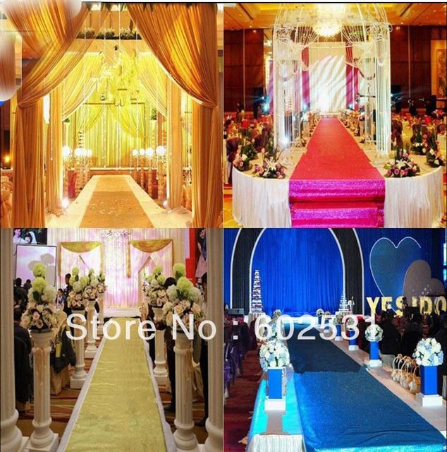 Spr Amazing Wedding Decorations Mat Blanket Backdrop Road Lead 10m