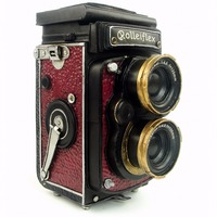 Antique classical camera model retro vintage wrought handmade metal crafts for home/pub/cafe decoration or birthday gift