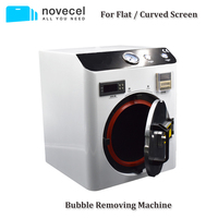 Novecel автоклав высокого давления Мини автоклав ЖК оса мини средство для удаления пузырьков воздуха для iPhone для samsung край Сенсорный экран обно