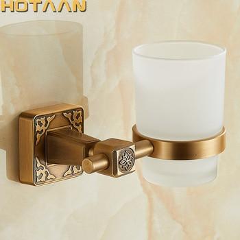 New Arrival Aluminium Single Tumbler Holder Cup & Tumbler Holders Toothbrush Holder Bathroom Accessories Banheiro YT-14197