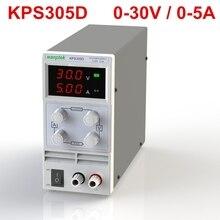 Новое Обновление KPS305D Мини Переключения Регулируемый Регулируемый Источник Питания ПОСТОЯННОГО ТОКА SMPS Single Channel 30 В 5A Переменная