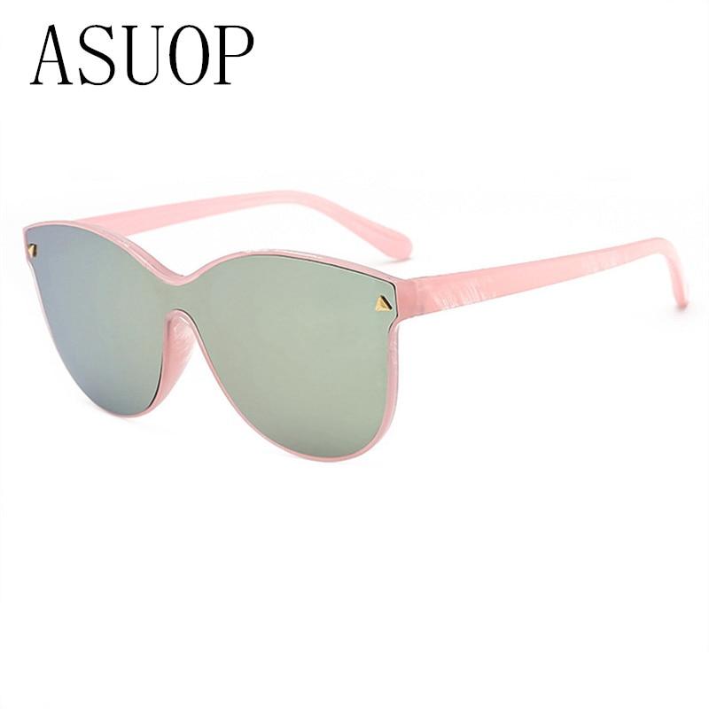 ASUOP new fashion dames zonnebril classic retro merk design herenbril - Kledingaccessoires