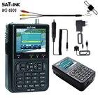 New satellite finder Satlink WS-6906 DVB-S FTA Digital Satellite Signal meter LCD Sat Finder ws 6906 satlink ws6906 PK V8