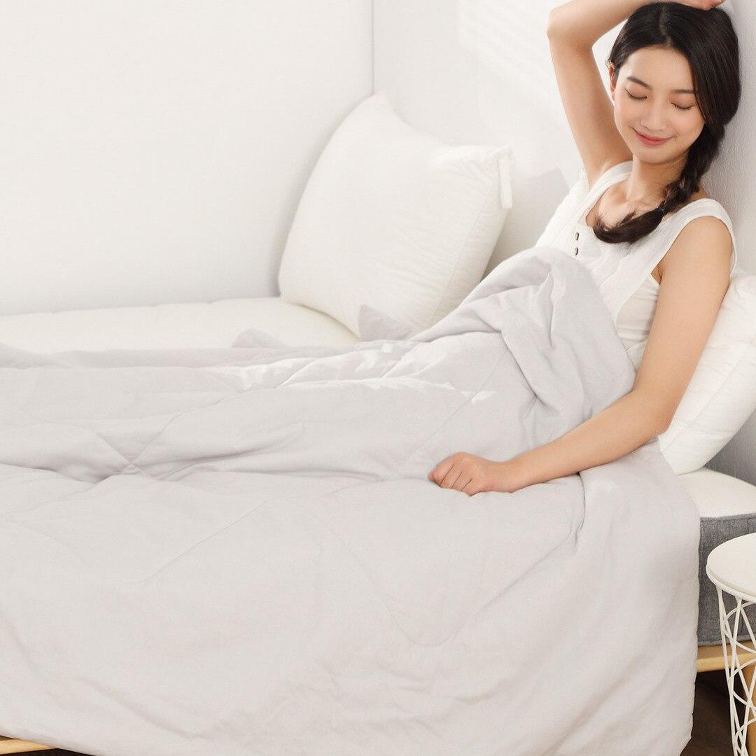Image 3 - Оригинальный Xiaomi 8H одеяло кондиционер одеяло моющееся хлопок Антибактериальный дышащий хлопок кровать одеяло для ребенка-in Обучаемые пульты ДУ from Бытовая электроника on AliExpress - 11.11_Double 11_Singles' Day
